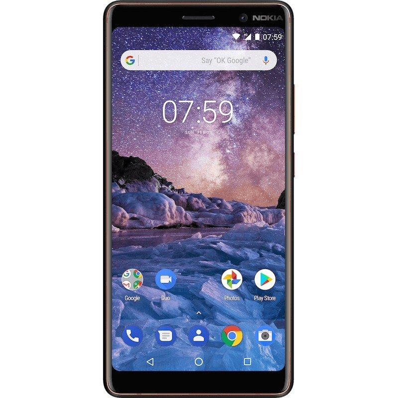 Смартфон Nokia 7 Plus 4/64Gb Black
