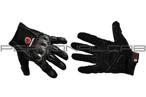 Перчатки   SCOYCO   (mod:HD-12, size:M, черные, текстиль, карбон)