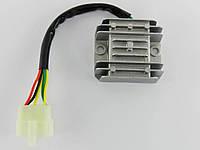 Реле тока GY6-125/150сс 5 проводов (фишка папа) TVR, фото 1