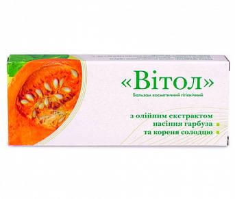 Свечи Витол с экстрактами семян тыквы и корня солодки -  при простатите, аденоме, для повышения потенции