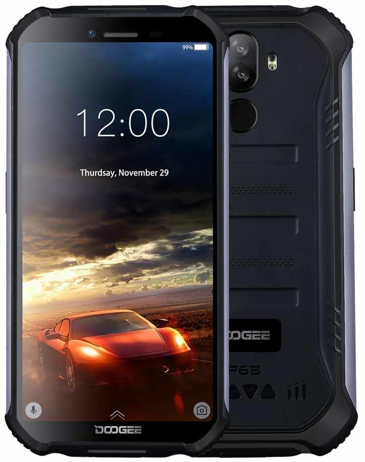 Смартфон Doogee S40 2/16Gb Black