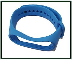 Ремінець для фітнес-браслета Xiaomi Mi Band 3, Mi Band 4, синій