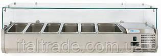 Витрина холодильная для топпинга Forcold G-VRX1500-380