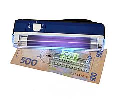 Карманный ультрафиолетовый детектор валют DL-01 Автоматический прибор для проверки денег UV Сканер