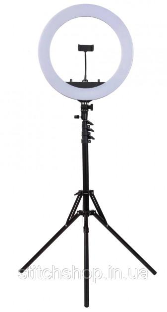 Кольцевая лампа Led Ring Light HQ-18 45 см со штативом