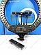 Кольцевая лампа Led Ring Light HQ-18 45 см со штативом, фото 3