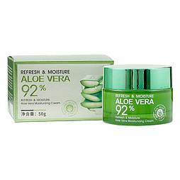 Крем для обличчя Bioaqua Refresh & Moisture Aloe Vera Moisturizing Cream 50г