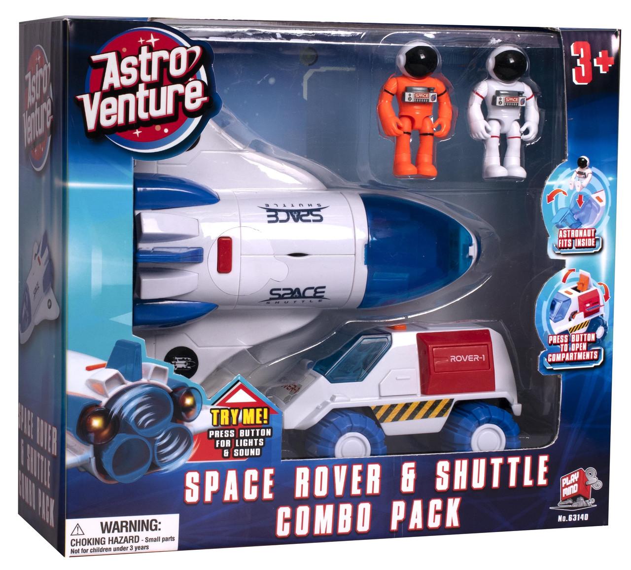 Игровой набор космический велосипед и шаттл Astro Venture (63140)