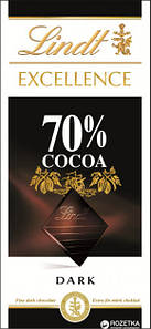 Шоколад Lindt Excellence 70% Cacao