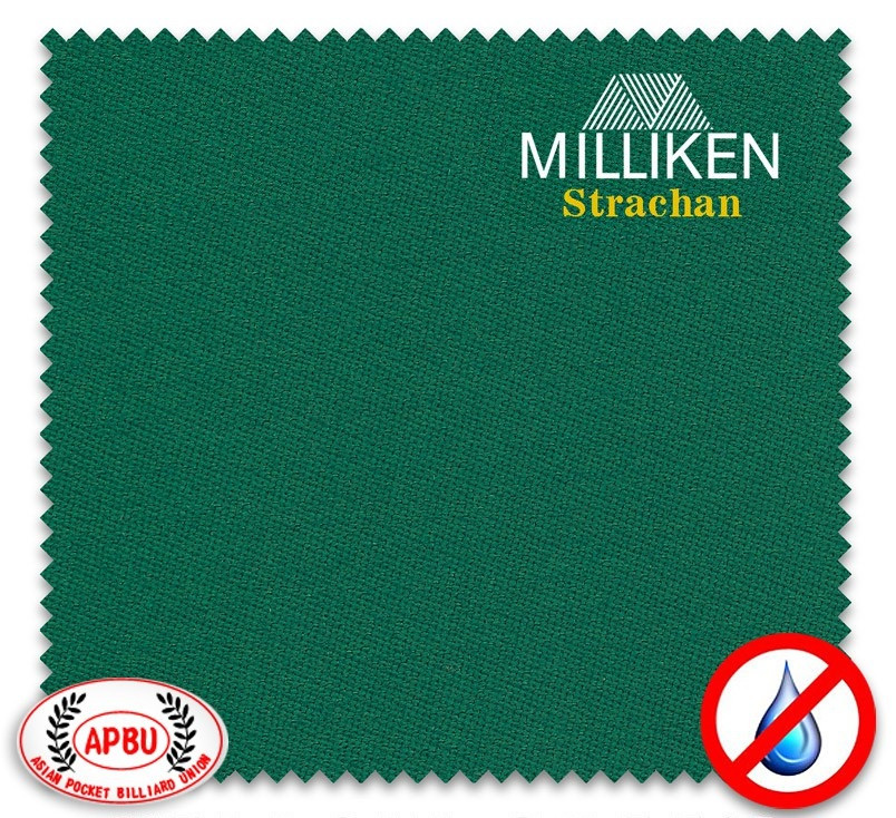 Сукно Milliken зеленого цвета для бильярдных столов