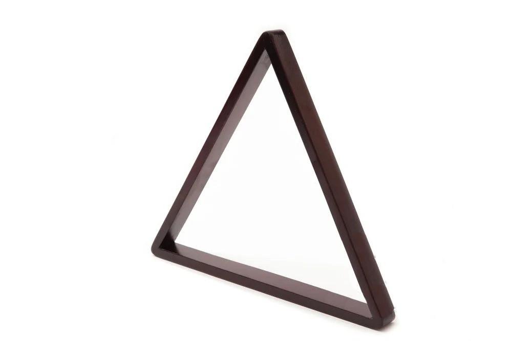 Трикутник для гри в пул для більярдних куль 57,2 мм з дерева
