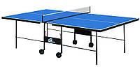 Теннисный стол для помещений Athletic Strong (Синий) | Складной стол для тенниса