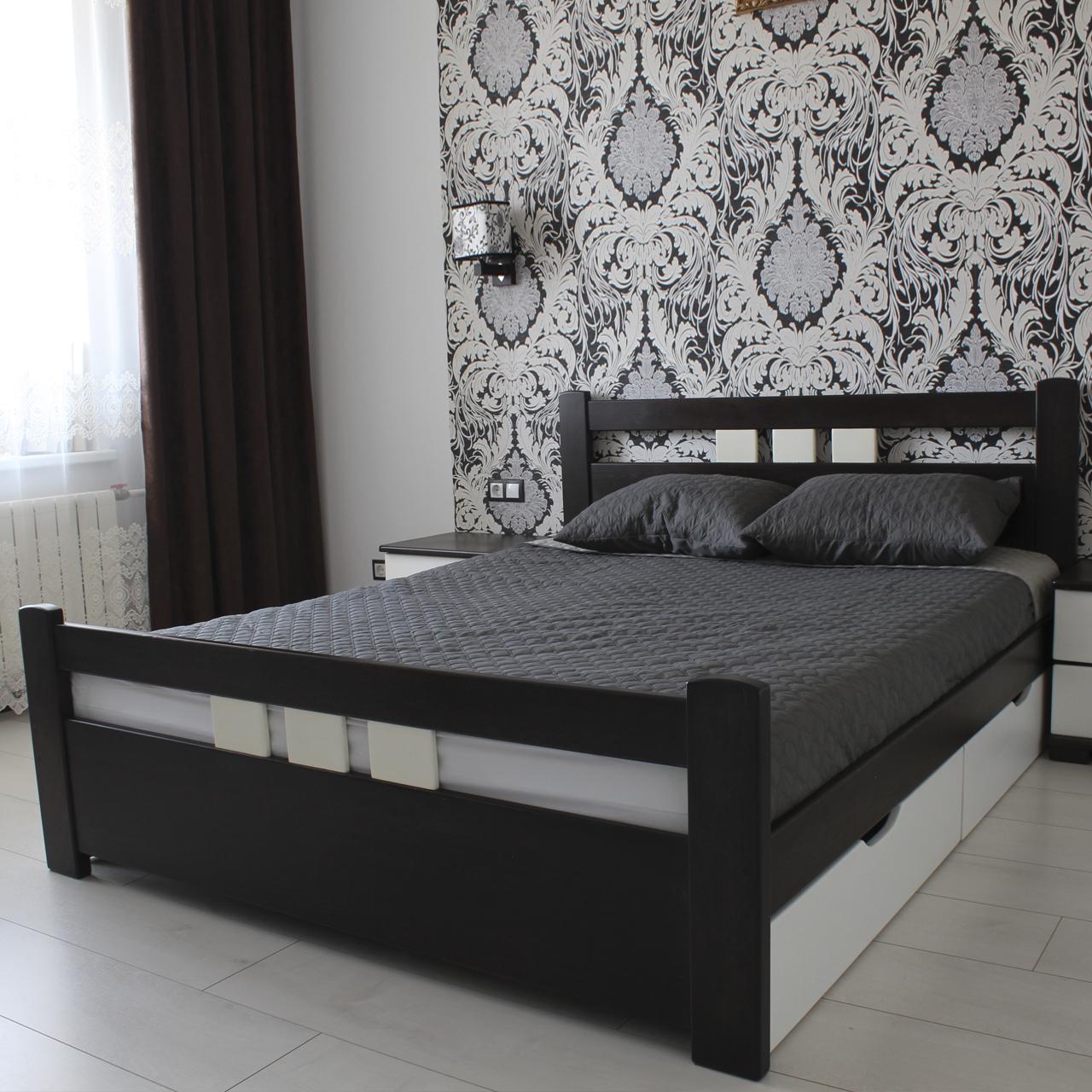 Ліжко дерев'яне Геракл (масив бука)
