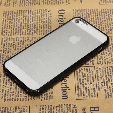 Чохол TPU Накладка для IPhone 5/5S Чорний