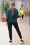Жіночий зимовий спортивний костюм з свитшотом 8463, фото 2