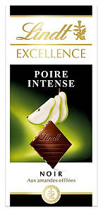 Шоколад Lindt Excellence Poire Intense