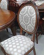 Стілець обідній дерев'яний для вітальні Генуя До Olberg, колір і оббивка на вибір
