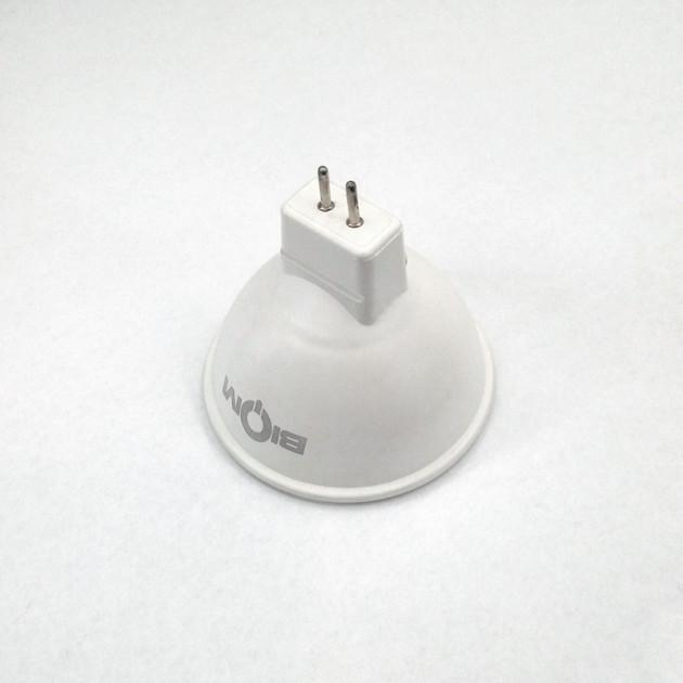 Светодиодная лампа MR16 7W матовая Biom BT-562  GU5.3 теплый свет 3000К