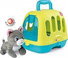 Игровой набор Smoby Toys «Уход за котенком» с кейсом и переноской, фото 4