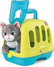 Игровой набор Smoby Toys «Уход за котенком» с кейсом и переноской, фото 5