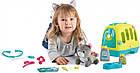 Игровой набор Smoby Toys «Уход за котенком» с кейсом и переноской, фото 8