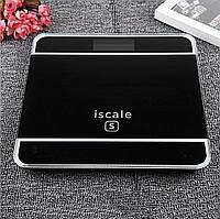 Весы цифровые напольные квадратные 180кг Iscale