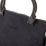 Женская сумка из натуральной кожи и замши разные цвета, фото 2