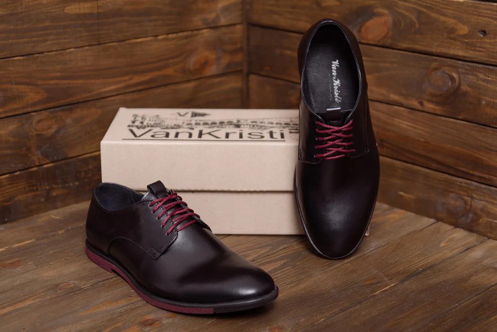 Туфли мужские кожаные VanKristi