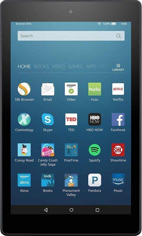 Планшет Amazon Fire HD 10 2/32GB WiFi (2017) Black Англ.яз Official Refurbished