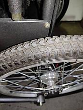 Дорожное складное колесное кресло ДККС-8. Складная инвалидная коляска ДККС-8. Кресло-коляска ДККС-8, фото 3