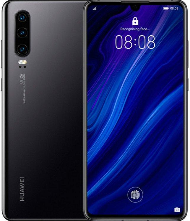 Смартфон Huawei P30 6/128GB (Black) Global