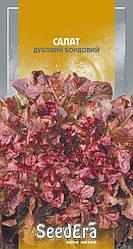 Семена Салат листовой Дубовый бордовый 1 г SeedEra 2793
