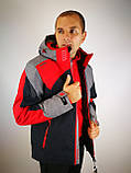 Чоловіча гірськолижна куртка avecs, фото 8