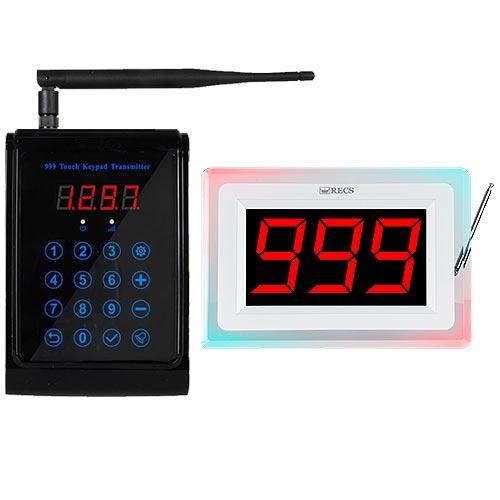 Система вызова официанта на кухню RECS №166 | передатчик повара + приемник вызовов