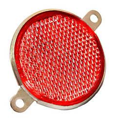 Катафот круглый ФП-310Е красный