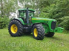 Трактор колісний JOHN DEERE - 8520