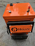 Твердотопливный котёл Heizer Мини 10 кВт, фото 3