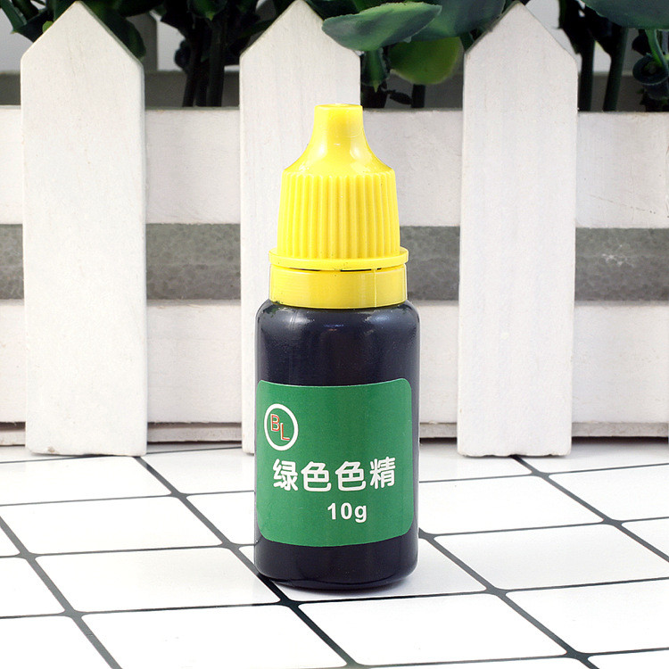 Краситель для эпоксидной смолы, Темно-зеленый, 10 г