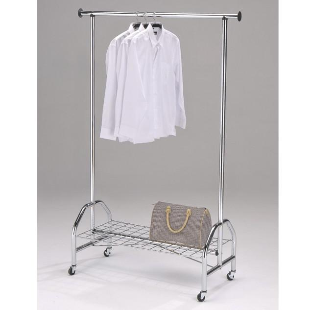 Стойка для одежды Onder metal CH-4003-L Хромированная