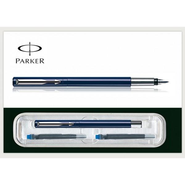Ручка перо Vector синяя Parker (F 01Г) 03 712Г