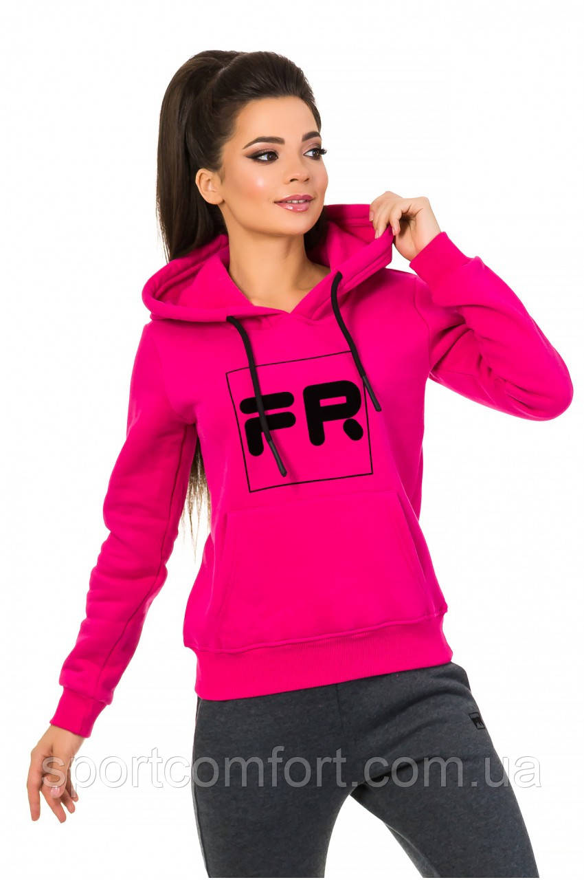 Толстовка женская Freever розовая