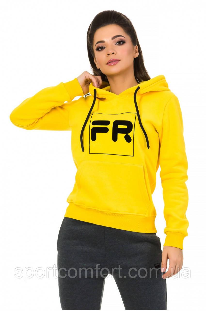 Толстовка женская Freever желтая
