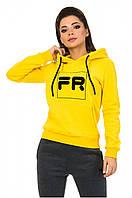 Толстовка женская Freever желтая, фото 1