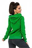 Толстовка женская Freever зеленая, фото 2
