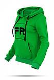 Толстовка женская Freever зеленая, фото 4