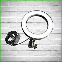 Кольцевая светодиодная Led Лампа 16 см / кольцевой свет, селфи лампа / селфи кольцо