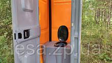 Мобільна туалетна кабіна біотуалет Люкс