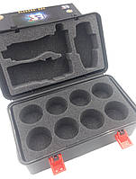 Кейс для хранения блейдов Beyblade Box черный с паралоновыми уплотнителями