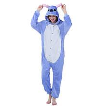 Кигуруми Стич для взрослых, пижама кигуруми Стич размер S