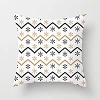 Декоративная подушка - зигзаг